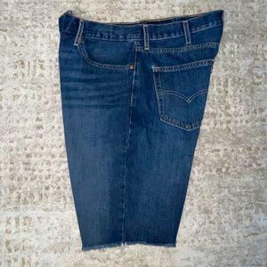 Levi's 511 Blue Jean Shorts 38W